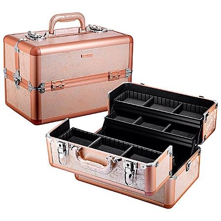 Sephora Collection Rose Gold Train Case $110