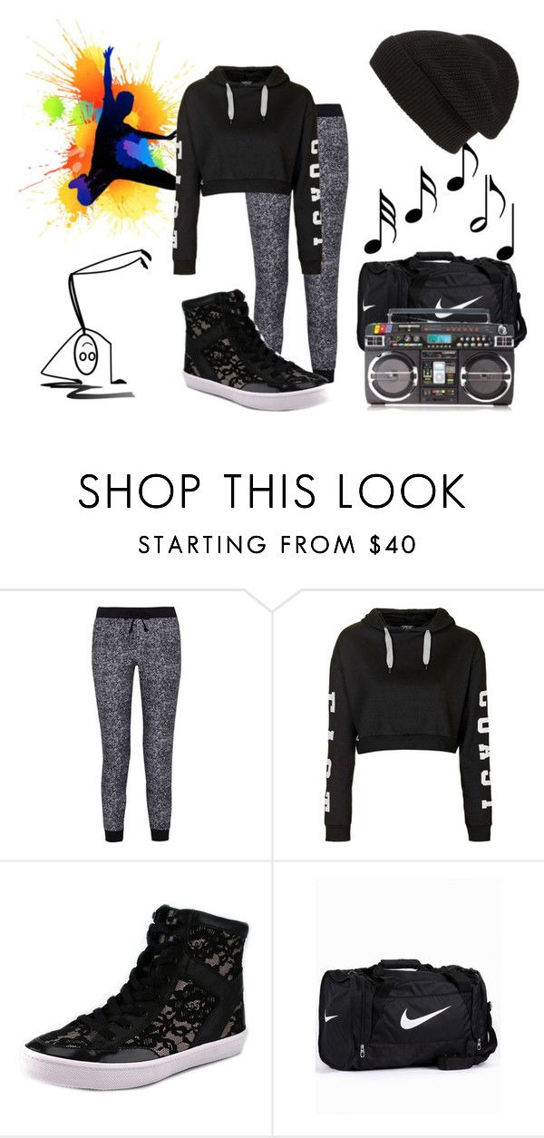 """Untitled #123"" by missyterious ❤ liked on Polyvore featuring H.I.P., Splendid, Topshop, Rebecca Minkoff, NIKE, Music Notes, Phase 3, women's clothing, women and female"
