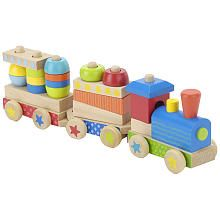 Wooden Stacking Train Baby Toys Wooden Train Toys Train Set
