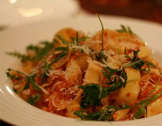Pappardelle, Smoked Trout & Tomatoes (Gordon Ramsay)