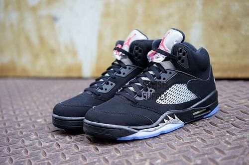 "detailed look e4f0c aac9e Air Jordan 5 Retro OG ""Black Metallic"""