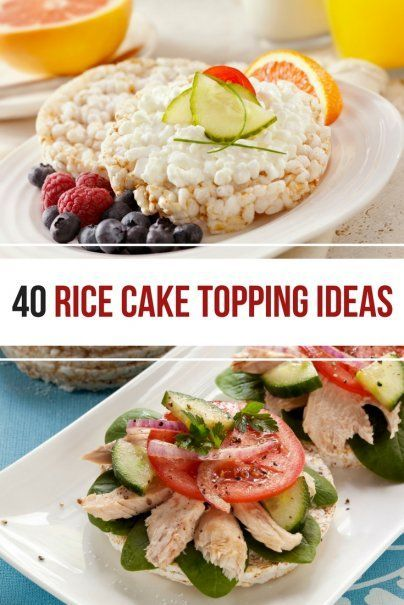 40 Rice Cake Topping Ideas With Images Rice Cake Recipes