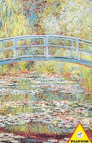 Puzzle Piatnik - Monet, Japoński mostek