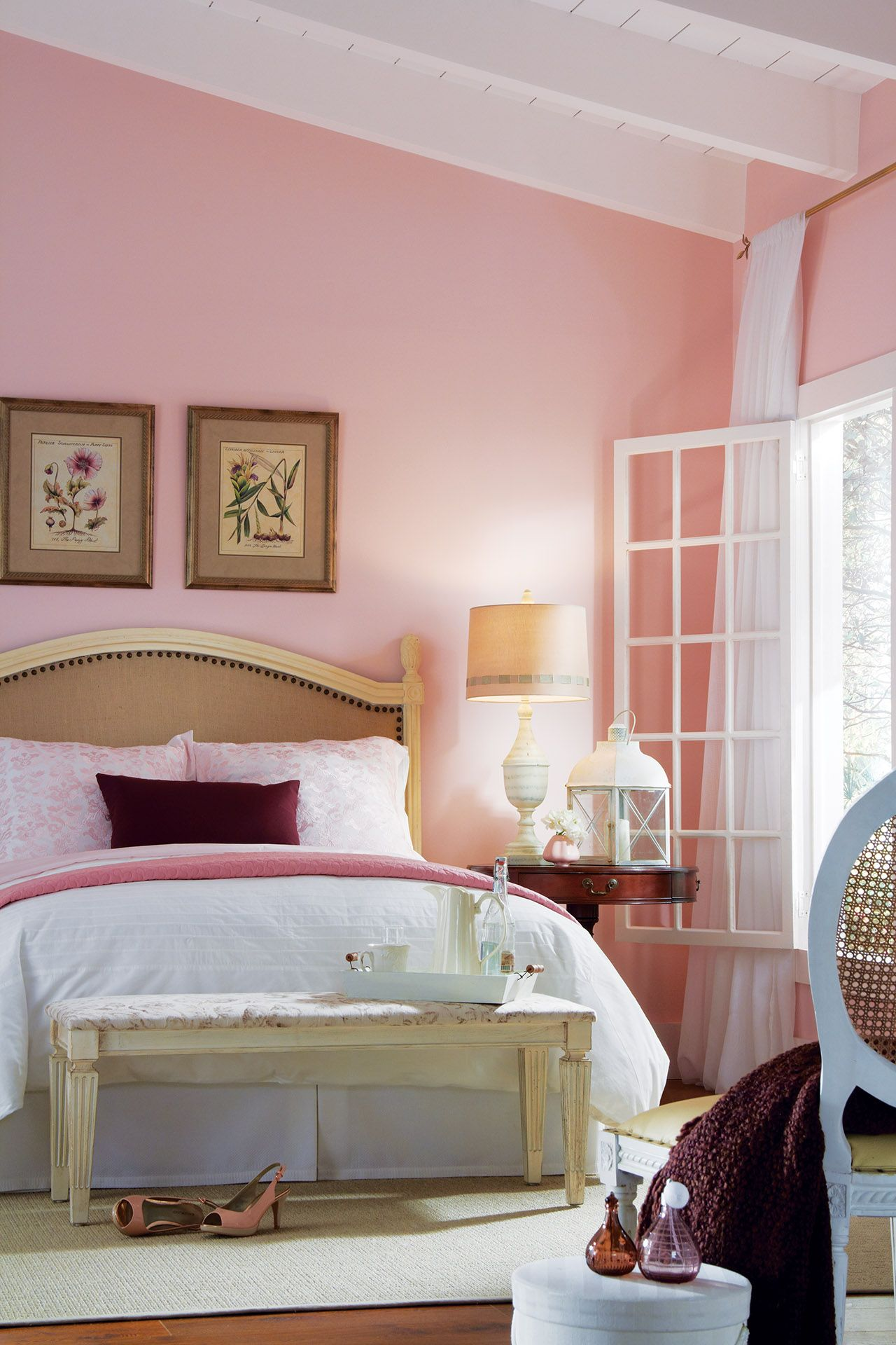 Walls: First Blush 06B-2 Trim and Ceiling: Graceful Swan 04D-1 ...