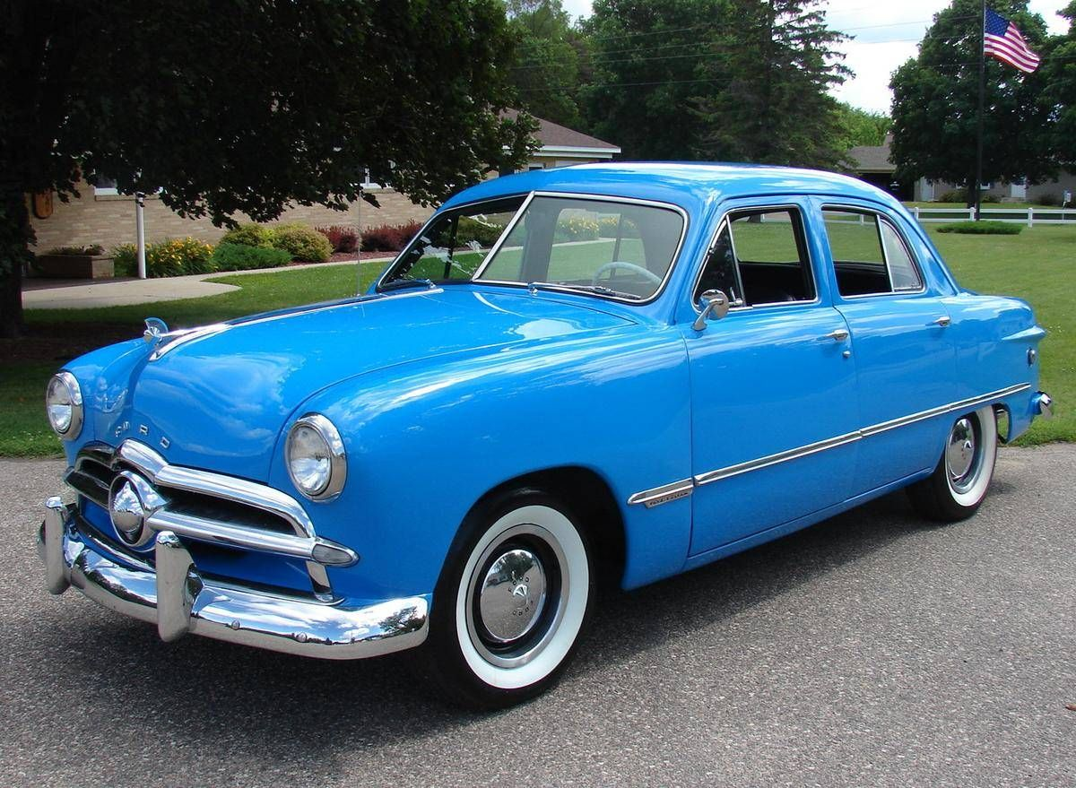 1949 Ford Custom Pinterest Cars And Classic 2 Door Hardtop