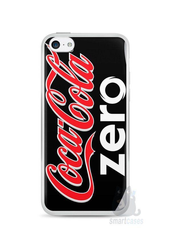 Capa Iphone 5C Coca-Cola Zero - SmartCases - Acessórios para celulares e tablets :)