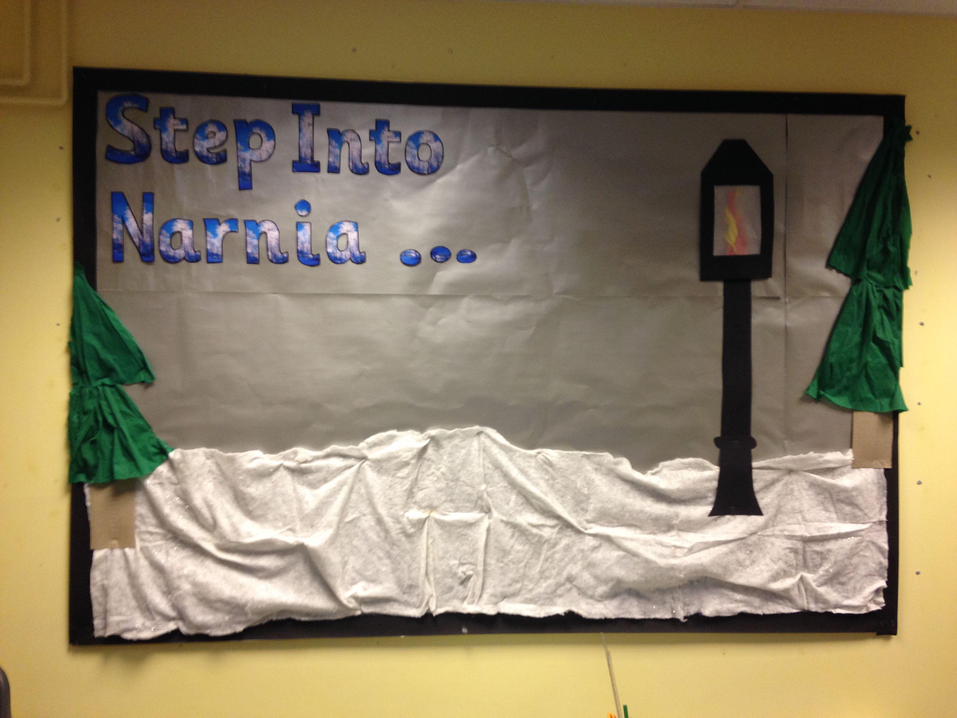 Narnia Display Board Classroom Display Boards Narnia