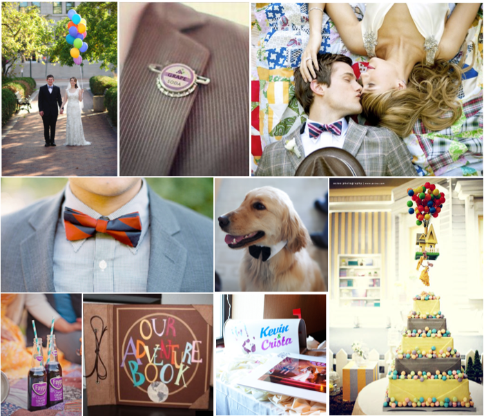 Simply Inspirational Up Inspired Wedding Disney Wedding Theme Disney Wedding Disney Inspired Wedding