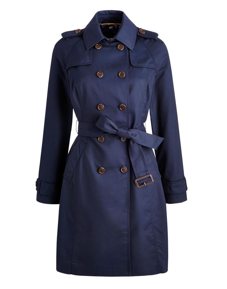 Details about Joules 123665 Womens Mac Coat Trench Coat with