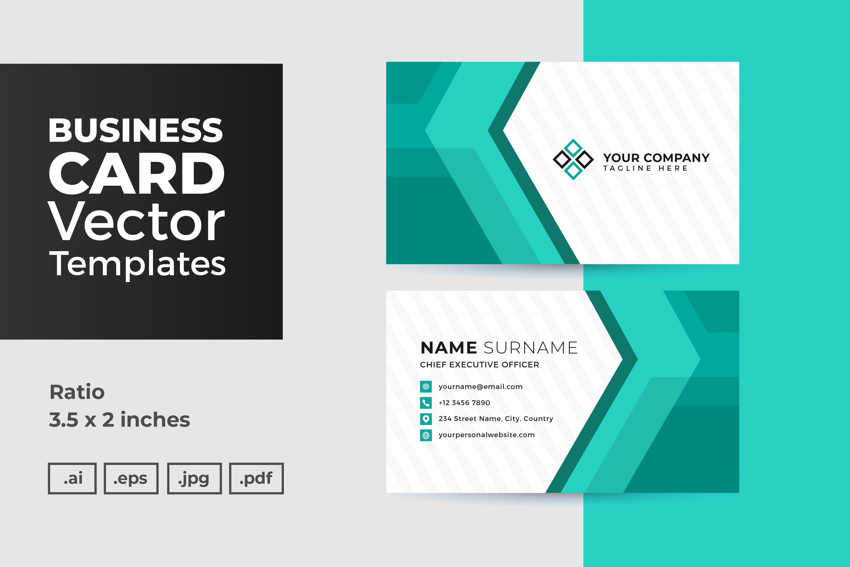 8 5 X 11 Business Card Template Illustrator