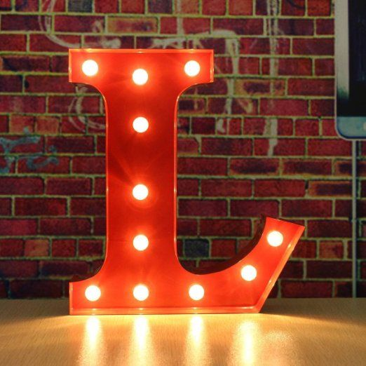 solmore 30x5cm led wall letter light up letter wort licht. Black Bedroom Furniture Sets. Home Design Ideas