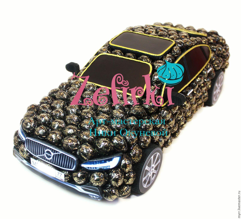 Тойота из конфет своими руками фото 444