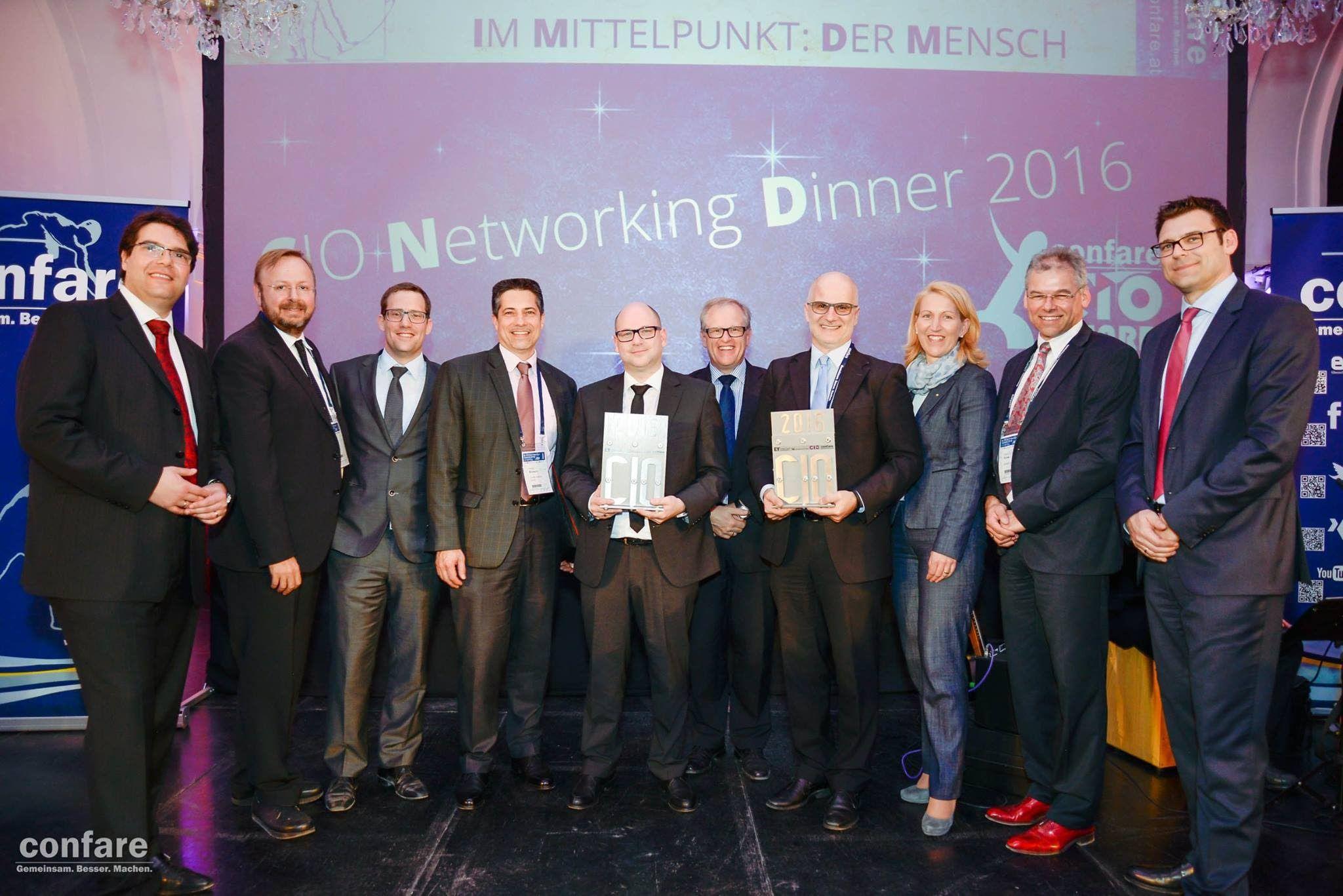 Confare CIO AWARD 2016 - Wer sind die besten IT-Manager Österreichs?