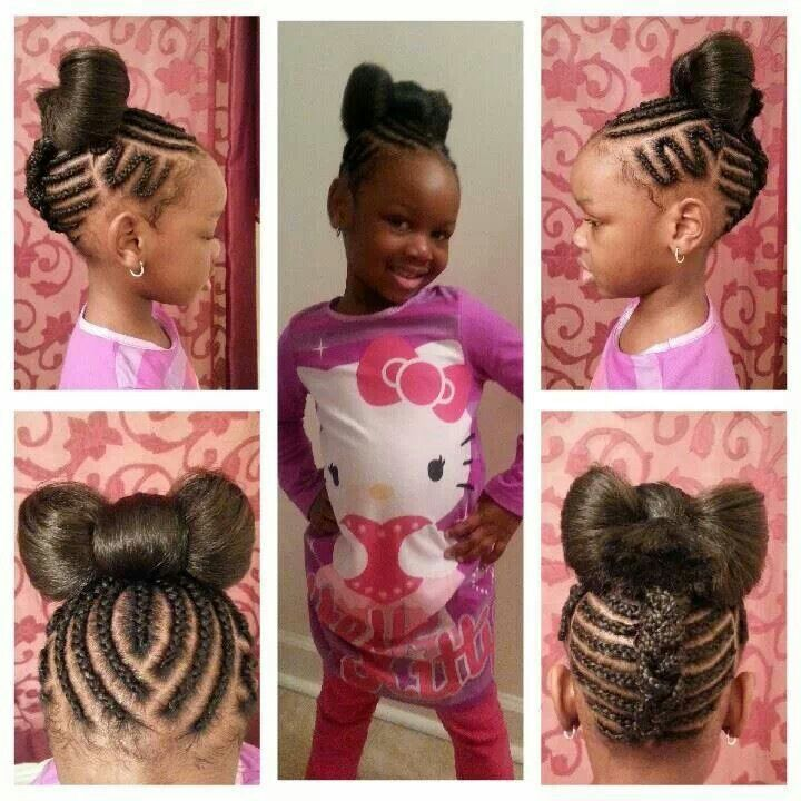 Pin By Ronni Stokes On Girls Hair Styles Kids Braided