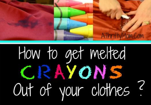 how to get melted crayons out of clothes laundry tips stains laundry cleaningtips diy. Black Bedroom Furniture Sets. Home Design Ideas