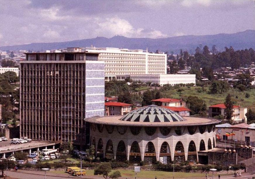 The National Bank Building Addis Ababa Addis Ababa Ethiopia Banks Building