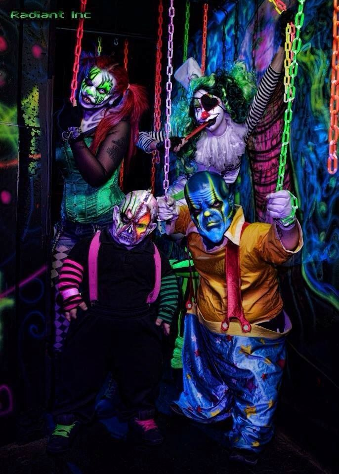 Image result for diy evil carnival maze Halloween circus
