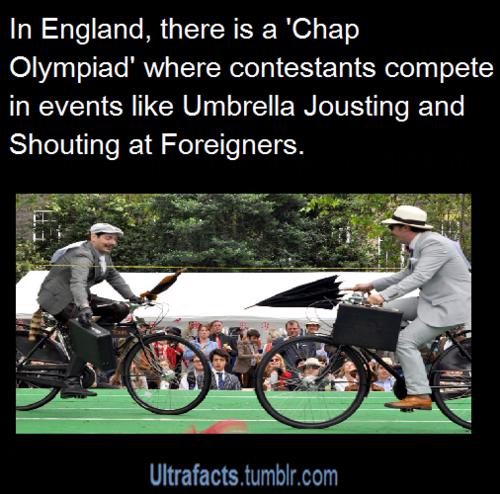 Sounds like Monty Python....