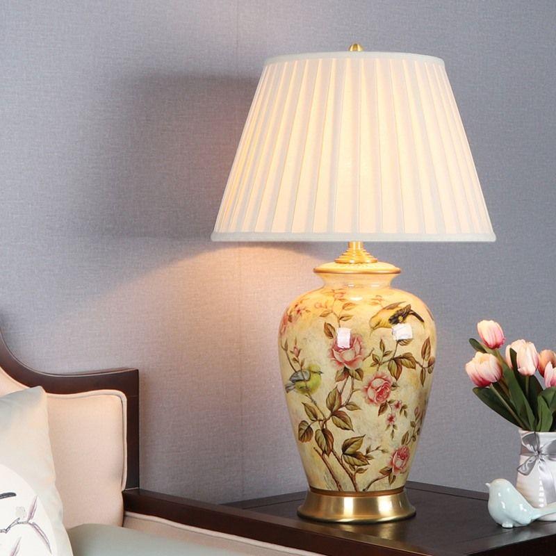 Lampe A Poser Moderne E27 Porte Lampe Base En Cuivre Table Lamp
