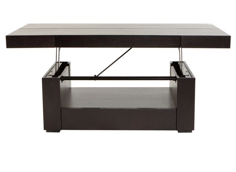 747 Coffee Table Love Has Hidden Storage And Lifts Up To