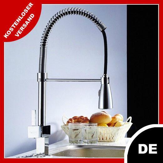Waschtischarmatur Wasserhahn Einhandmischer Messing verchromt Rea  Küche MEX