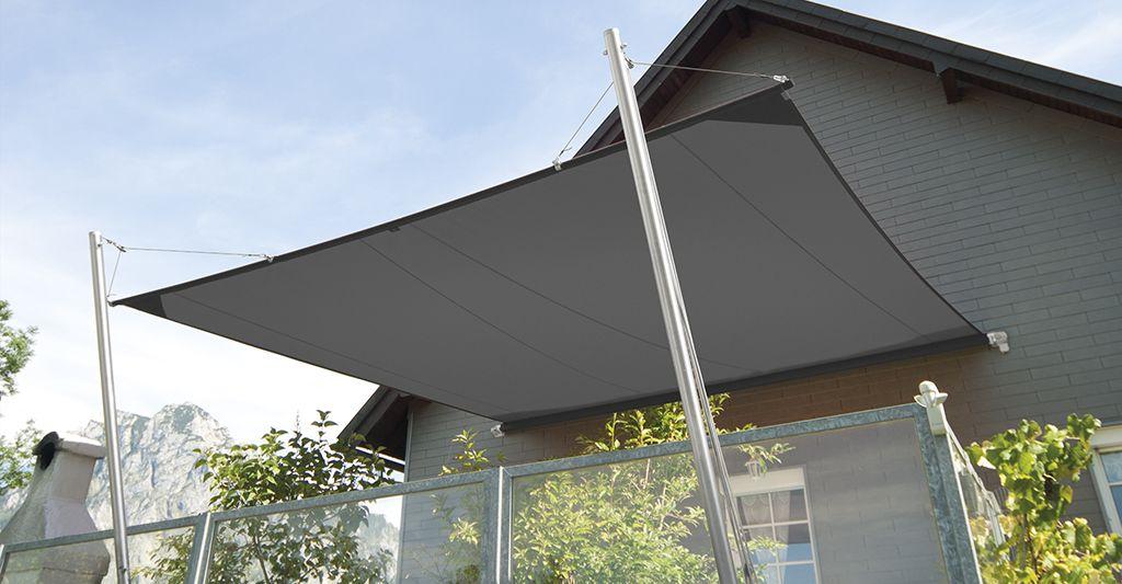 SOLIDAY-CS Schatten Pinterest Sonnensegel, Zeltdach und - vorteile sonnensegel terrasse