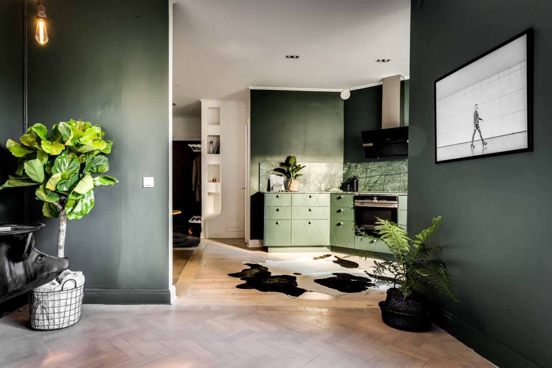 Wnętrze w zieleni Blog o designie i wnętrzach Home