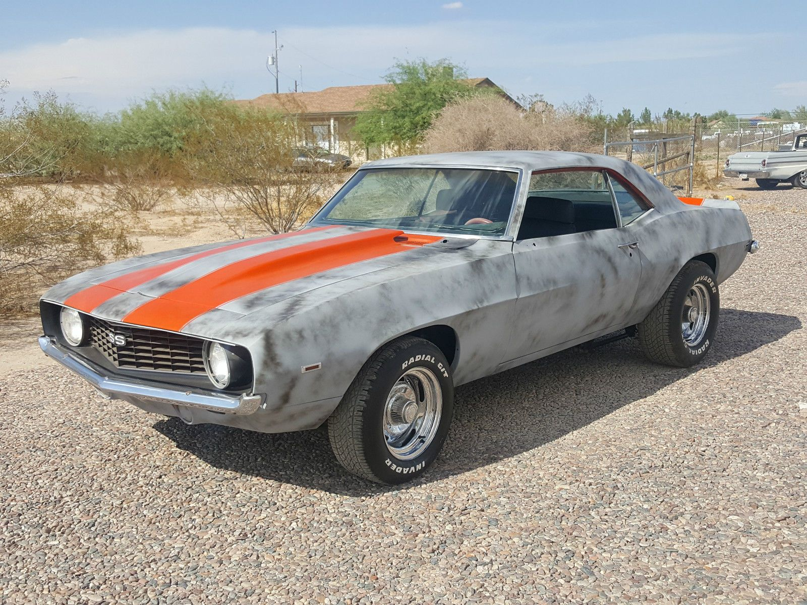 1969 chevrolet camaro ss real x55 hugger orange super sport pro touring project