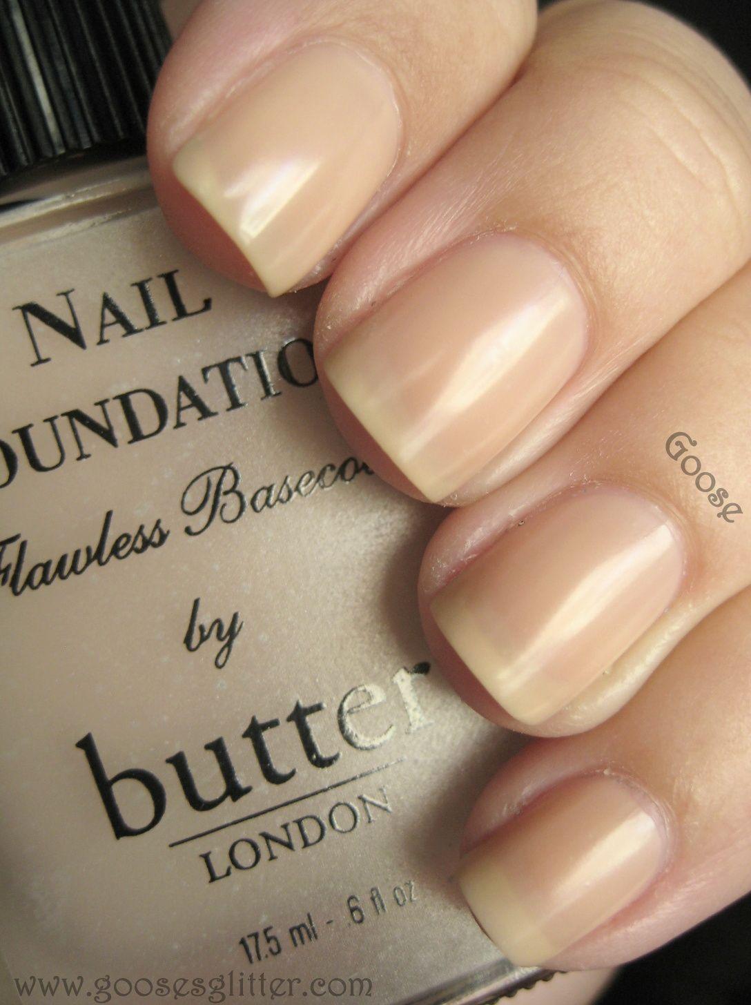 butterLONDON - Nail Foundation Flawless Basecoat / GoosesGlitter [I ...