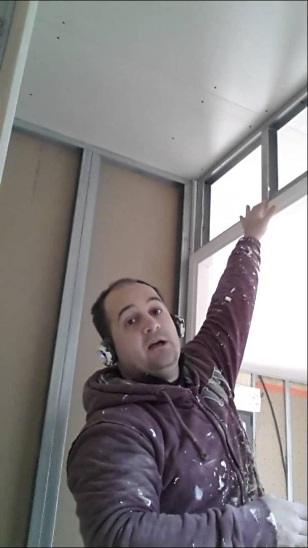 Montage cloison placo style conseil mur montants et imposte ferraillage travaux salle de bain - Montage cloison placo ...