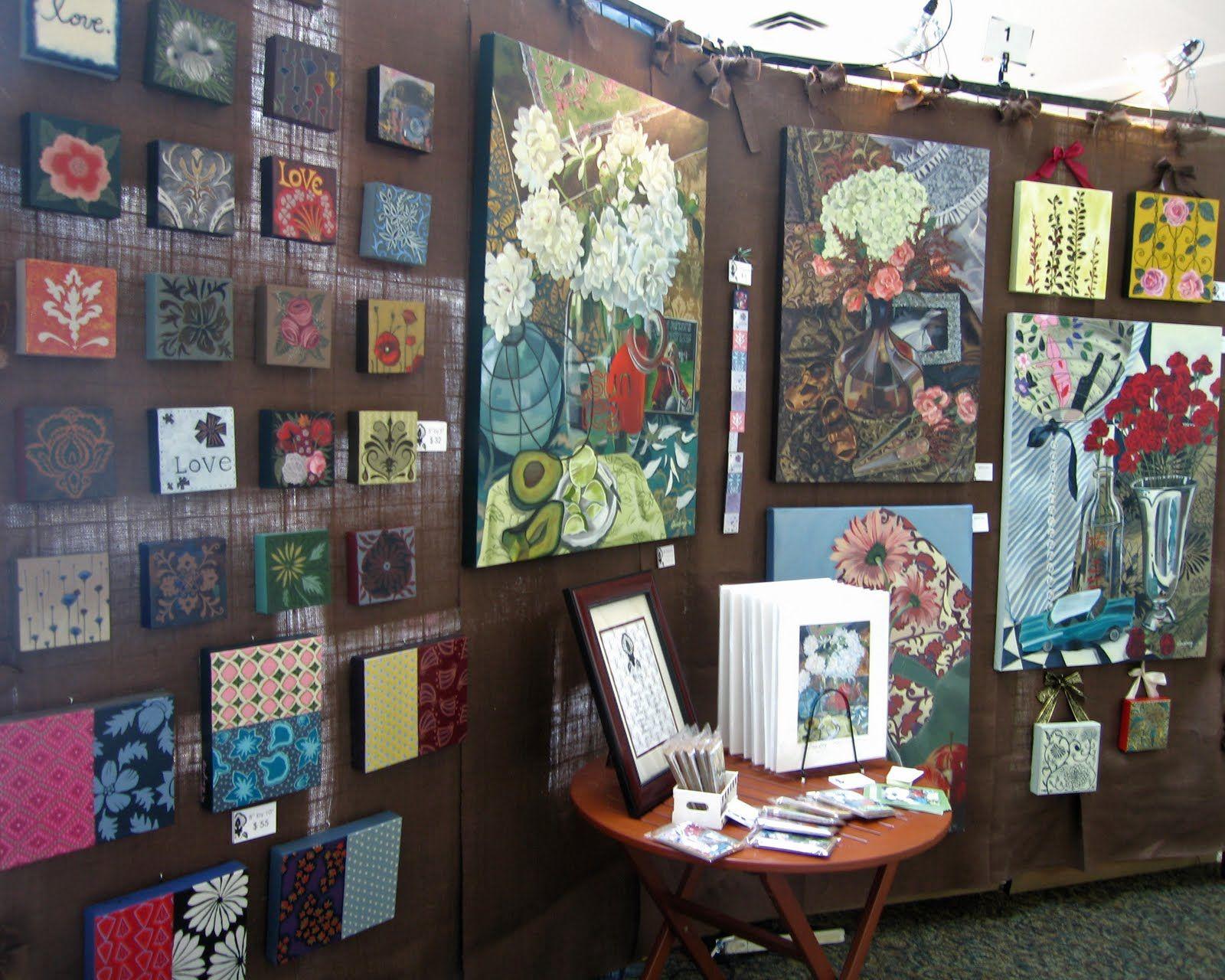 Art Fair Table Ideas