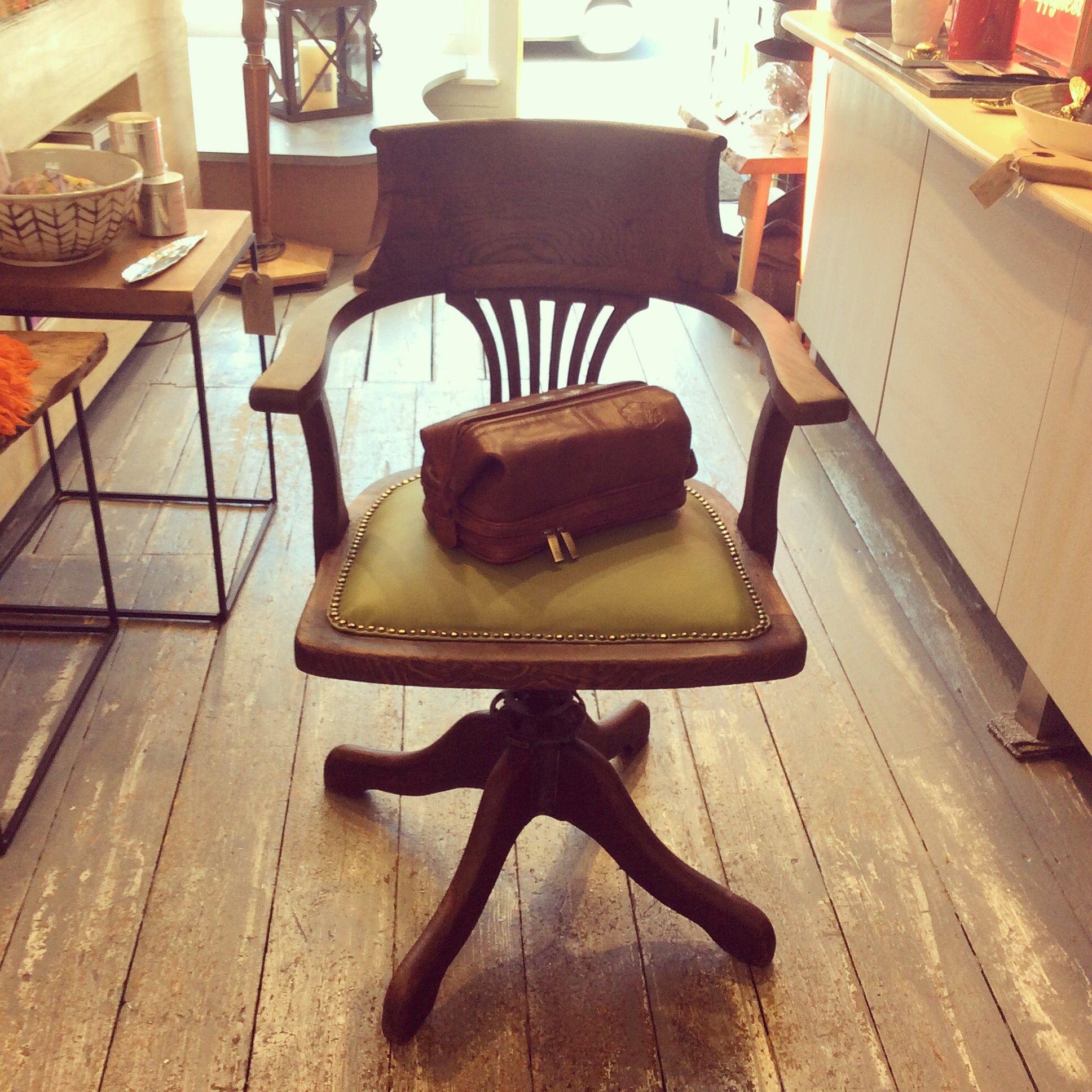 green swivel chair uk