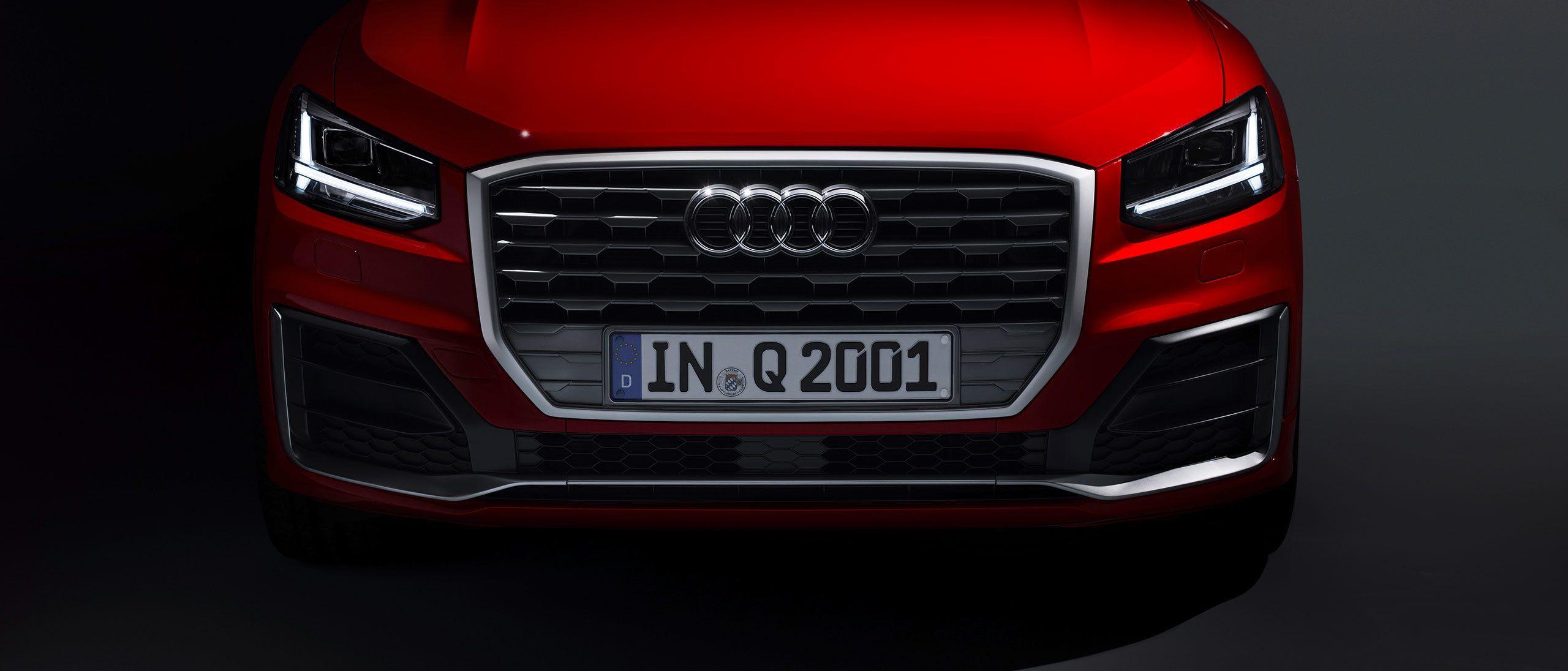 Audi q2 vorne