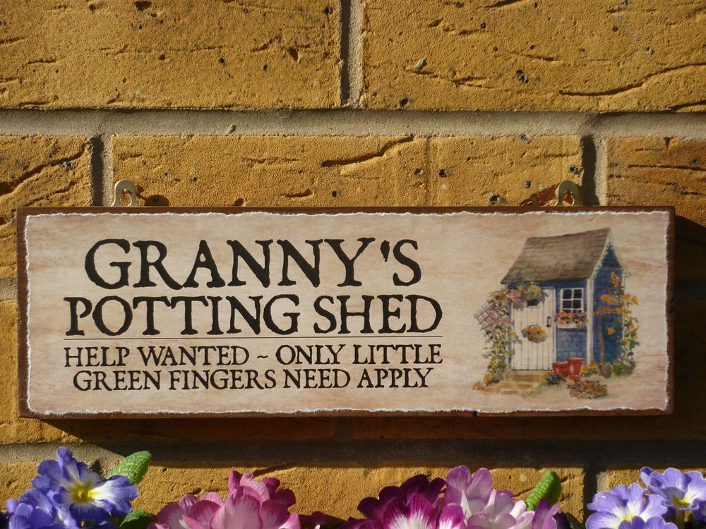 Details about personalised she shed sign gifts for her