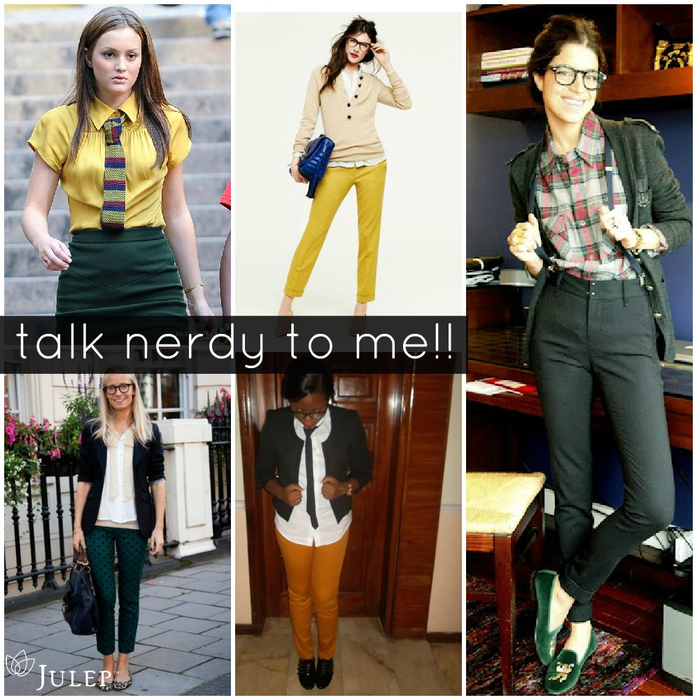Get the look!!! Geek Chic!  Nerd chic fashion, Geek chic, Nerd