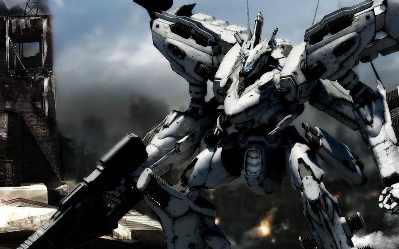 Armored Core Designs 4 For Answer 1280 801 Armored Core