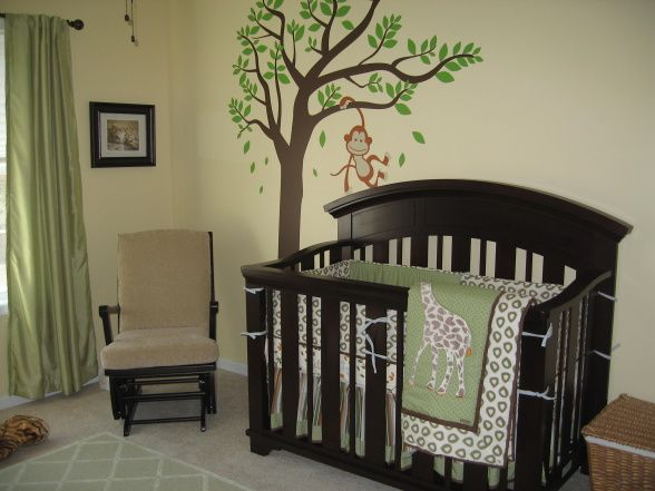 Beautiful Baby Boy Jungle Theme Nursery Ideas