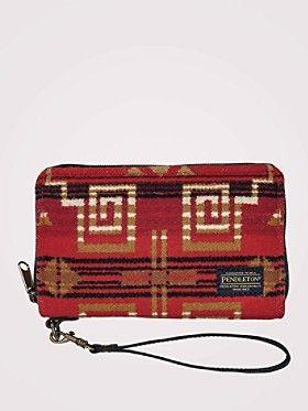 Warrior Rock Smartphone Wallet - Pendleton Woolen Mills - Apparel & Accessories - National Cowboy Museum
