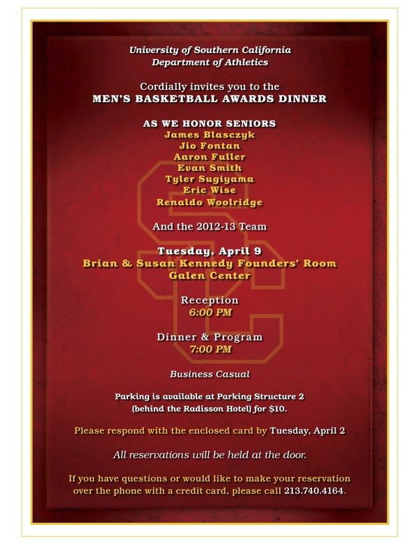 mbbawardsinvitejpg invitations Pinterest Banquet