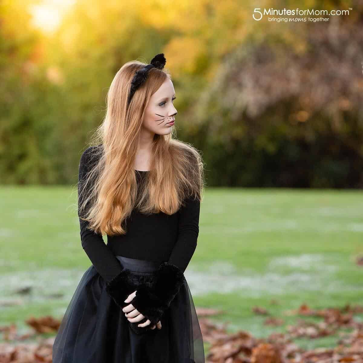 Easy Cat Costume - How To Make A Gorgeous Black Cat ...
