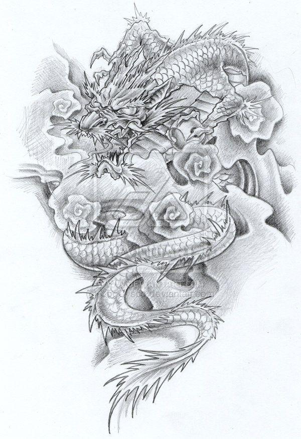 Tattoo Dragon By Copulationcontro1987 On Deviantart Japanese Dragon Tattoo Dragon Tattoo Japanese Dragon Tattoos
