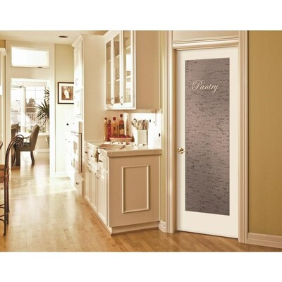 Jeld Wen 1501 Recipe Pantry Primed Frosted Glass Wood Hardwood Pre Hung Door Common 24 In X 80 In Actual 25 5625 In X 81 6875 In Lowes Com Frosted Glass Pantry Door Slab Door Glass Pantry Door
