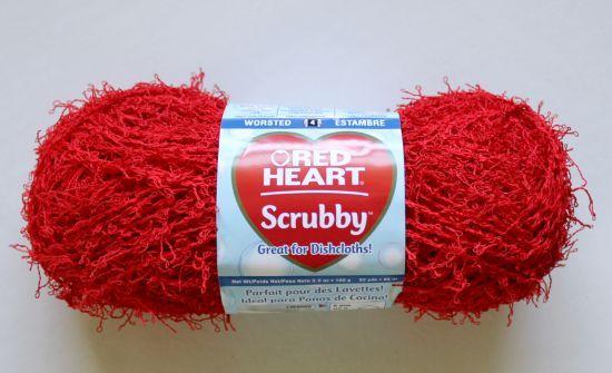 Knit Scrubbie Pattern Using Red Heart Scrubby Yarn Crochet Knit Cool Scrubby Yarn Knit Patterns