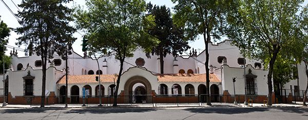 Centro Escolar Benito Juarez 1925 Arquitectos Carlos Obregon