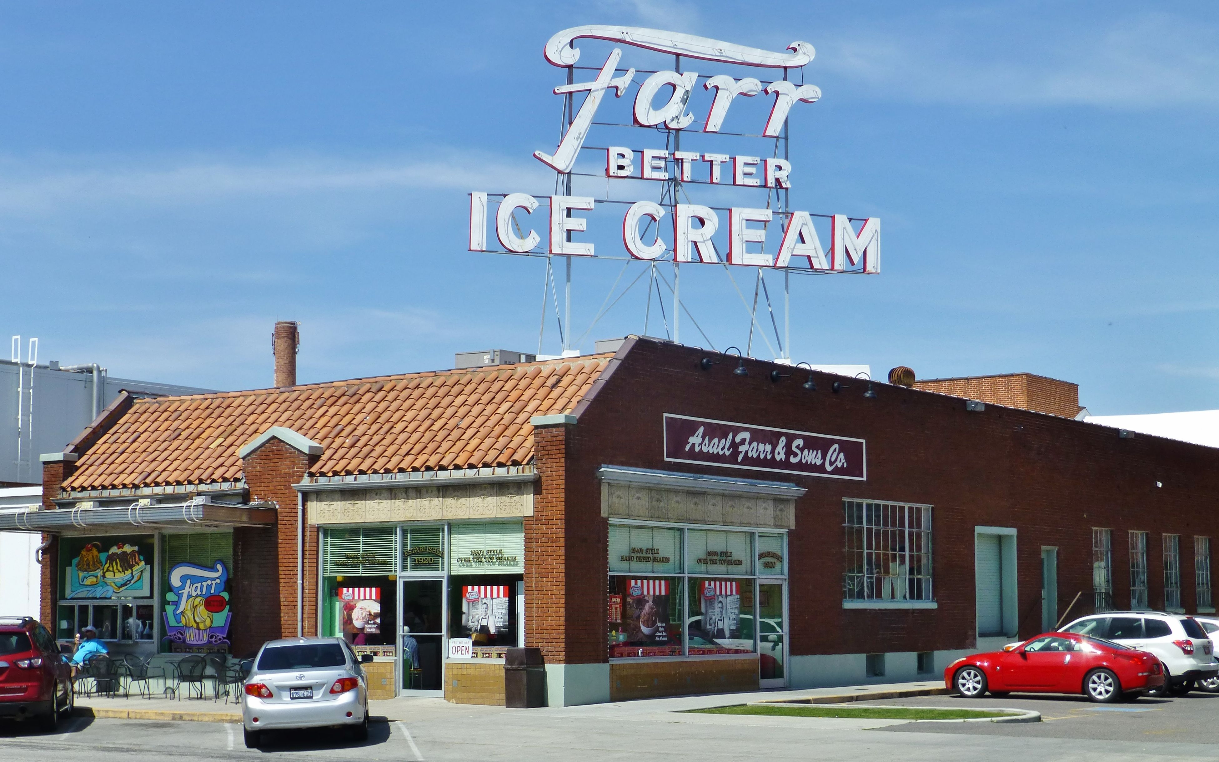 Farr Ice Cream Co In Ogden Utah Photography By David E Nelson