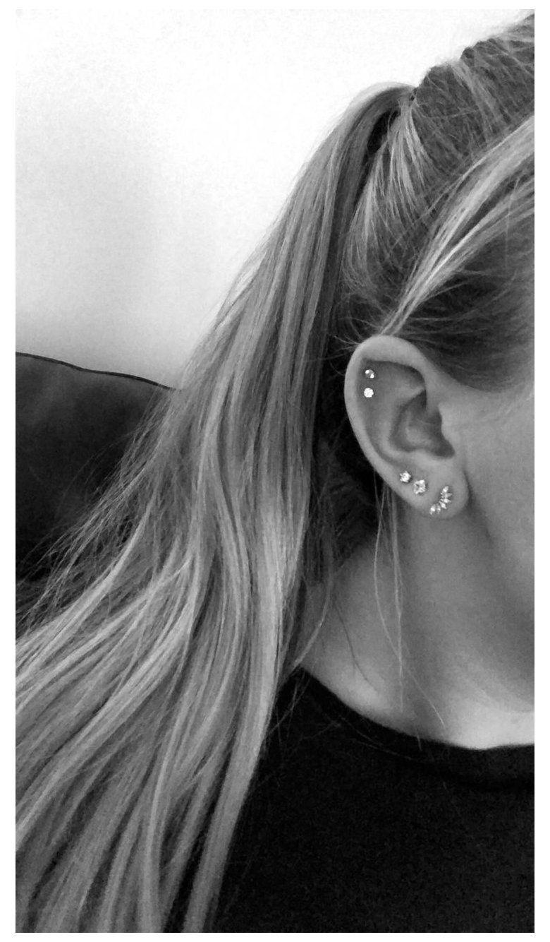 Helix piercing ideas guys with earrings piercings