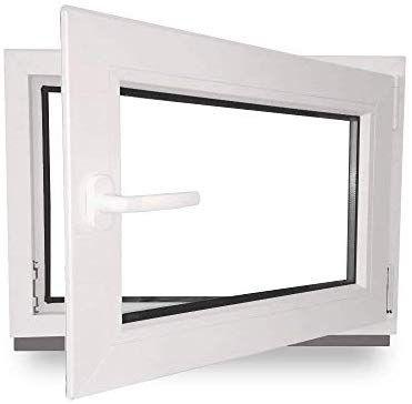 Kellerfenster Kunststoff Fenster weiß BxH 60 x 40
