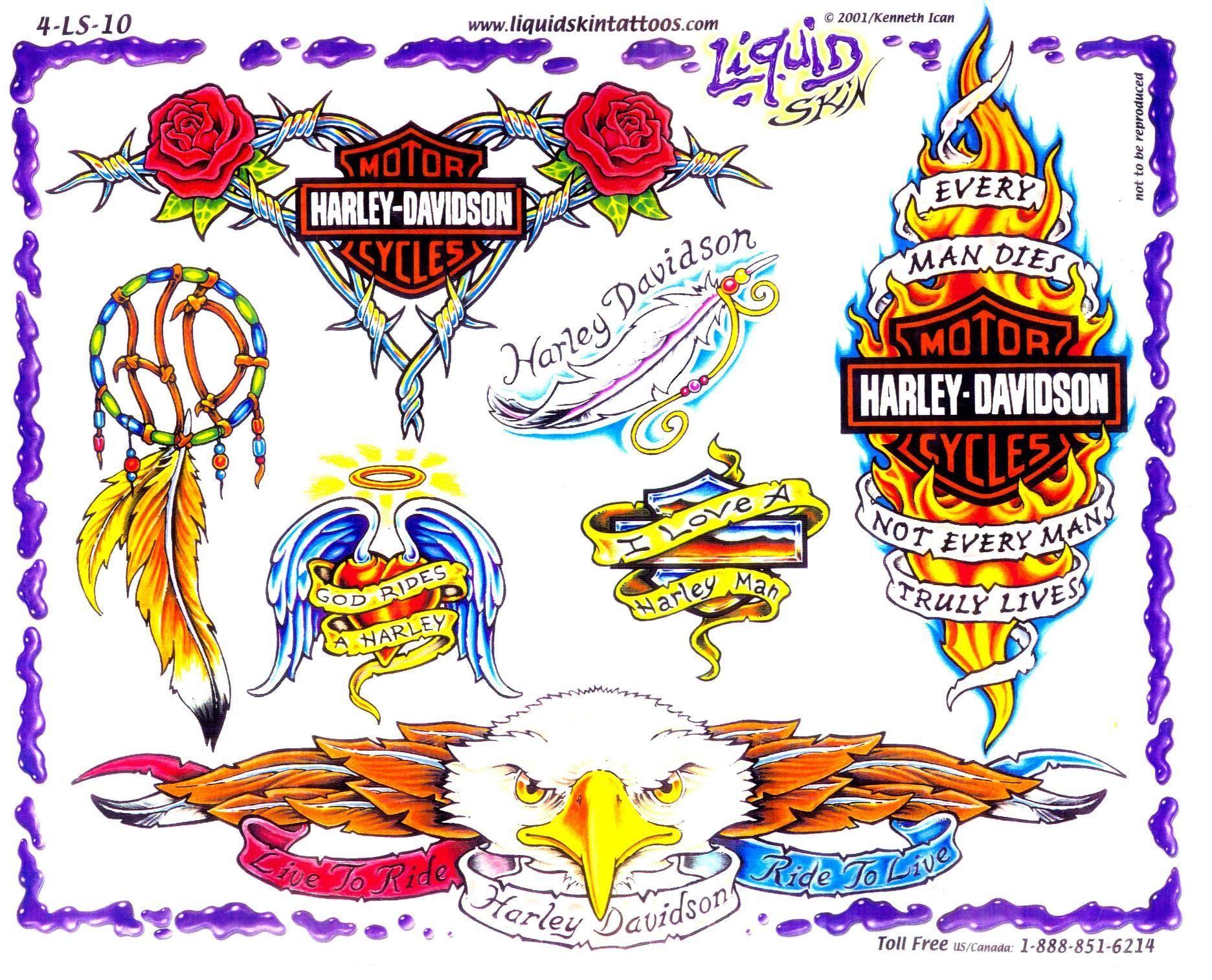 Motorcycle with biker tattoo - Tattoo Ideas Tags Biker Tattoos Harley Davidson
