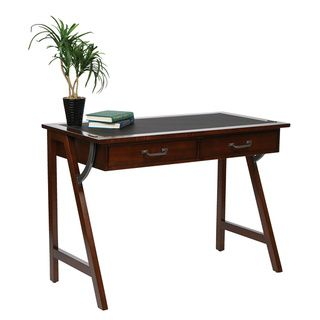Trestle Solid Wood Legs and Sawhorse Frame Computer Desk | Overstock.com Shopping - Great Deals on Office Star Products Desks