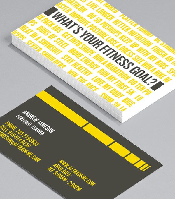 Browse Business Card Design Templates Business Card Template Design Business Card Design Personal Trainer Business Card